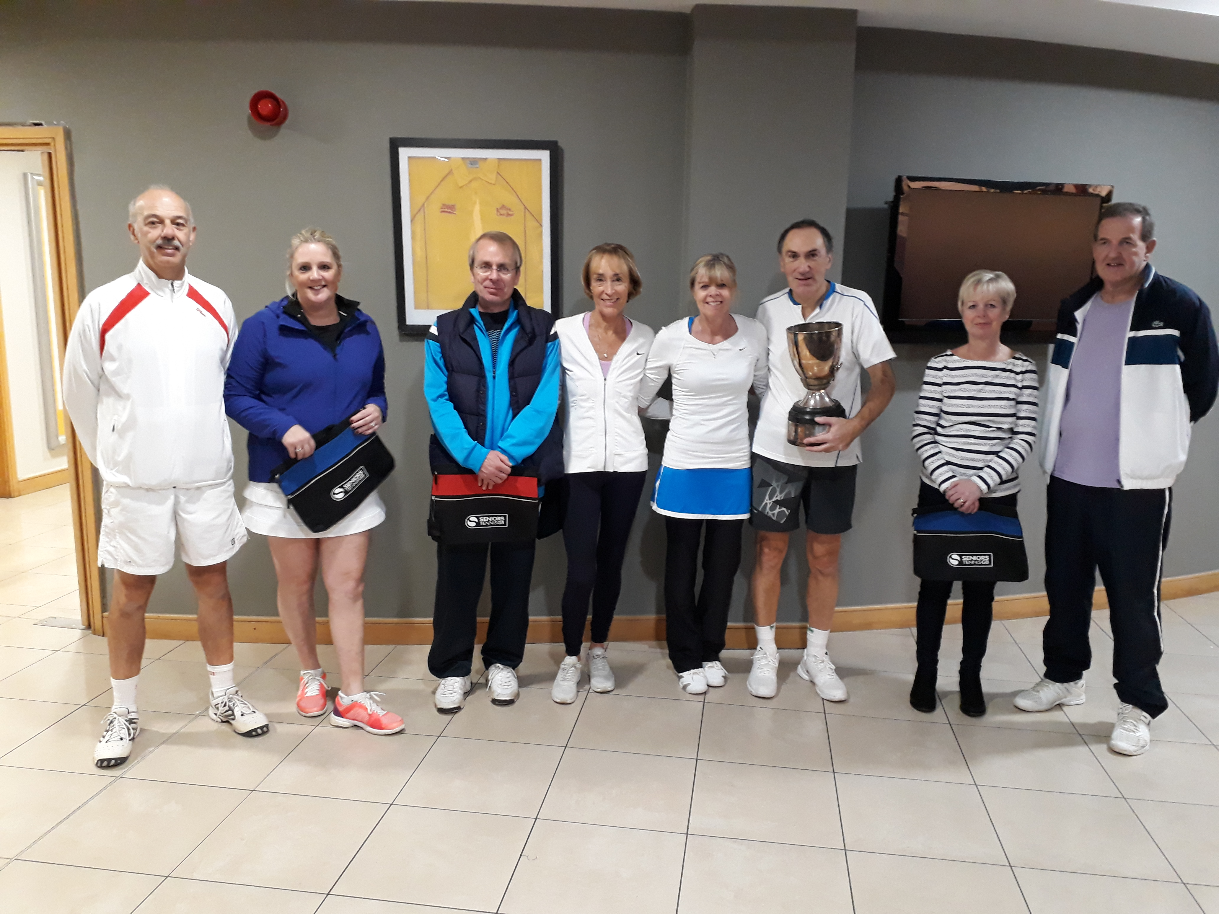 Club Vets Mixed Team National Finalists